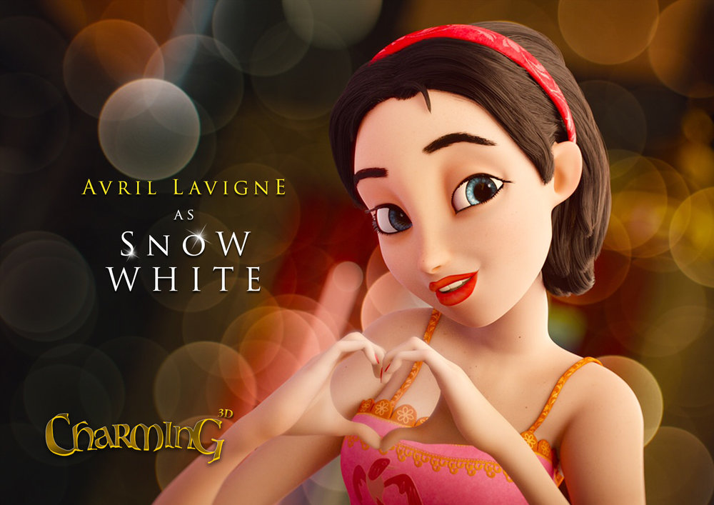 Snow White - Once upon a time there was the Prince Charming