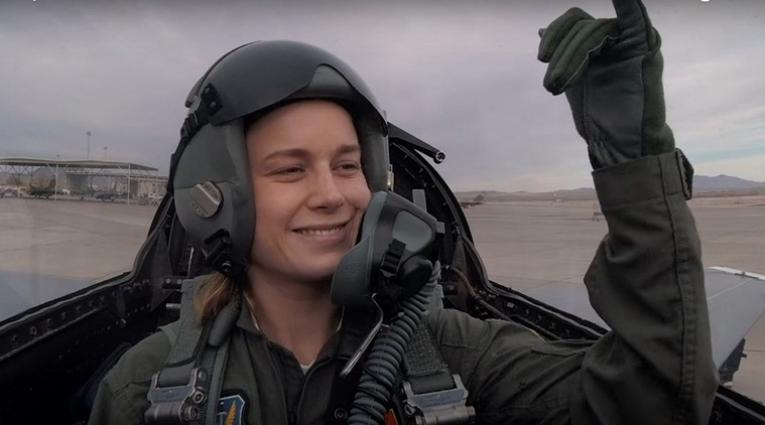 Carol Danvers is a former US fighter pilot