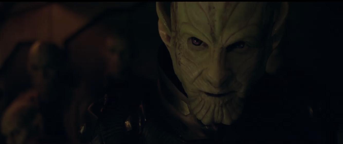 Talos, gespeeld door Ben Mendelsohn - Captain Marvel