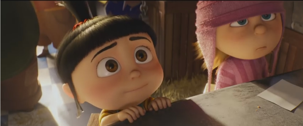 Agnes i Edith w Despicable Me 3