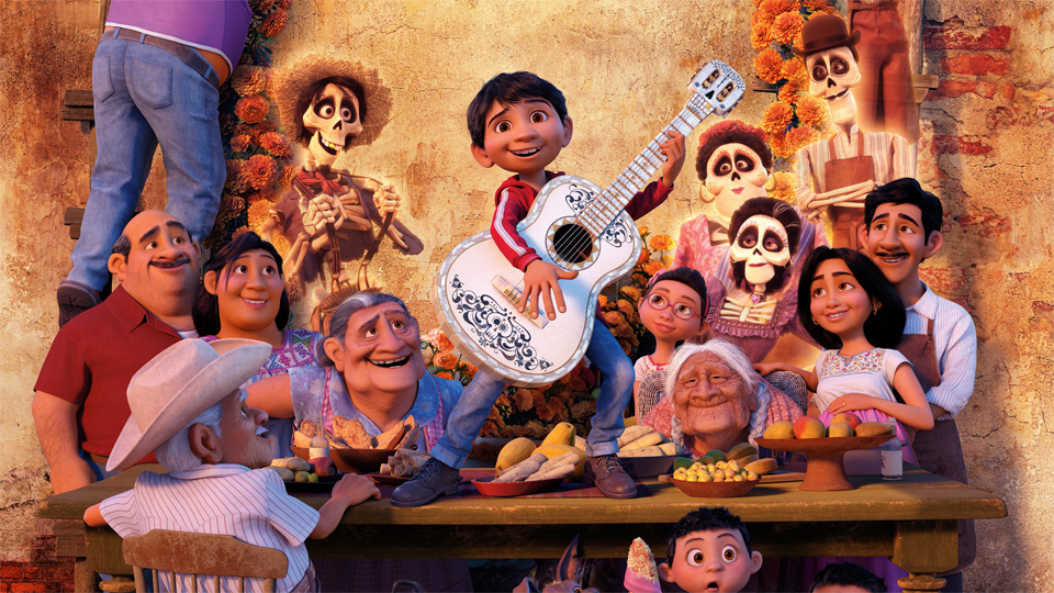 Coco the Disney Pixar animated film