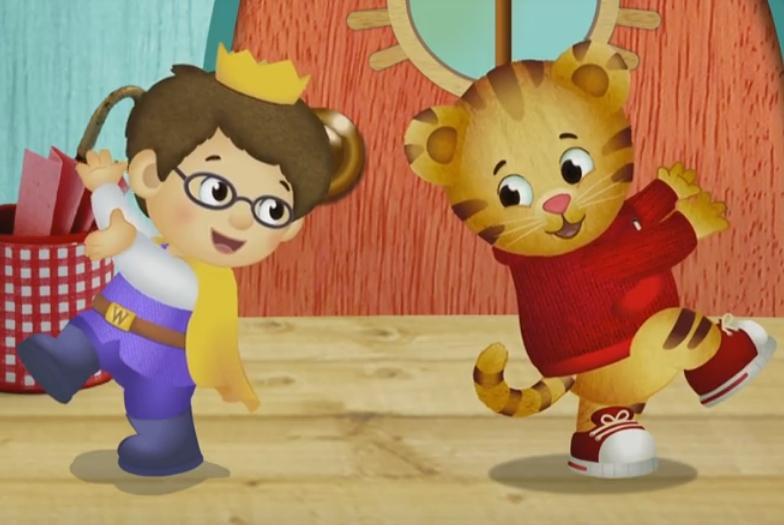 Daniel Tiger i Prince Wednesday