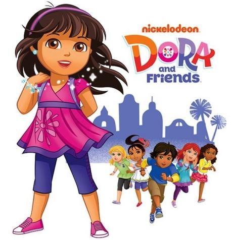 도라와 친구들 : 도시에서