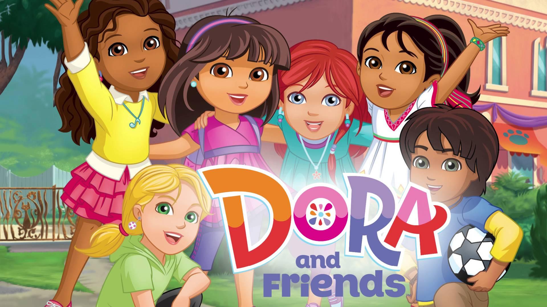 Dora and friends in città