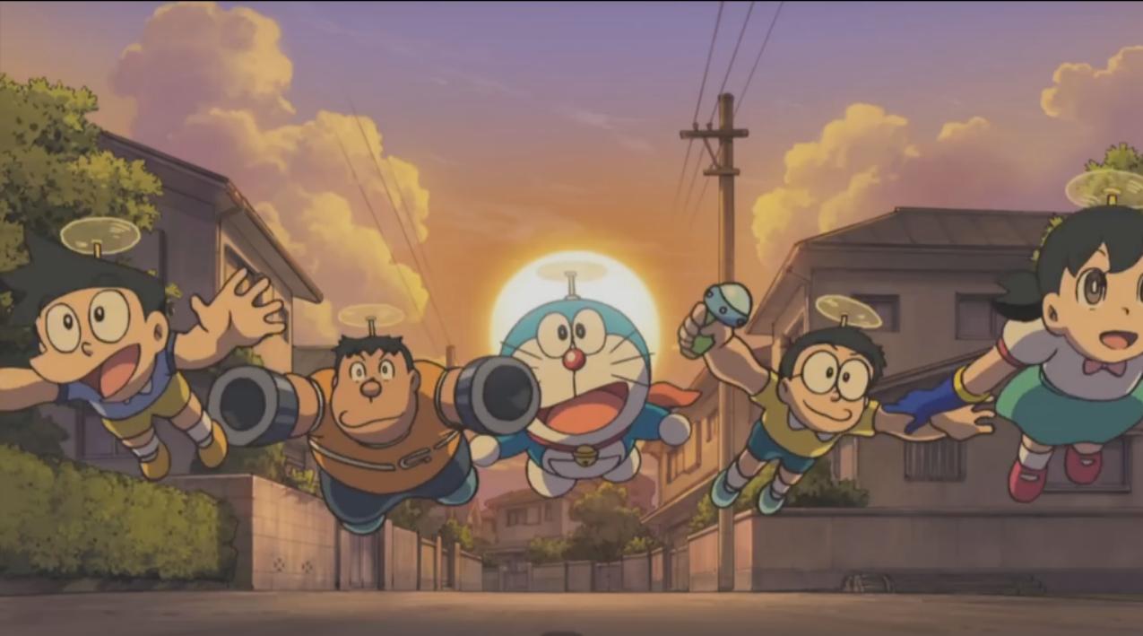 Doraemon: De avonturen van Nobita en de vijf ontdekkingsreizigers