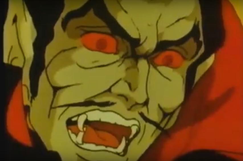 Dracula il ritorno cartone animato stop motion francesco romanelli