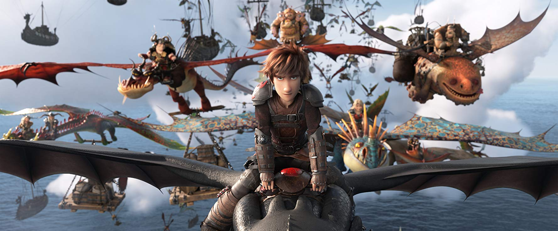 Hiccup Horrendous and the population of Berk - Dragon Trainer The hidden world