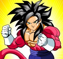 Goku Super Saiyan di 4° livello - Dragon Ball GT