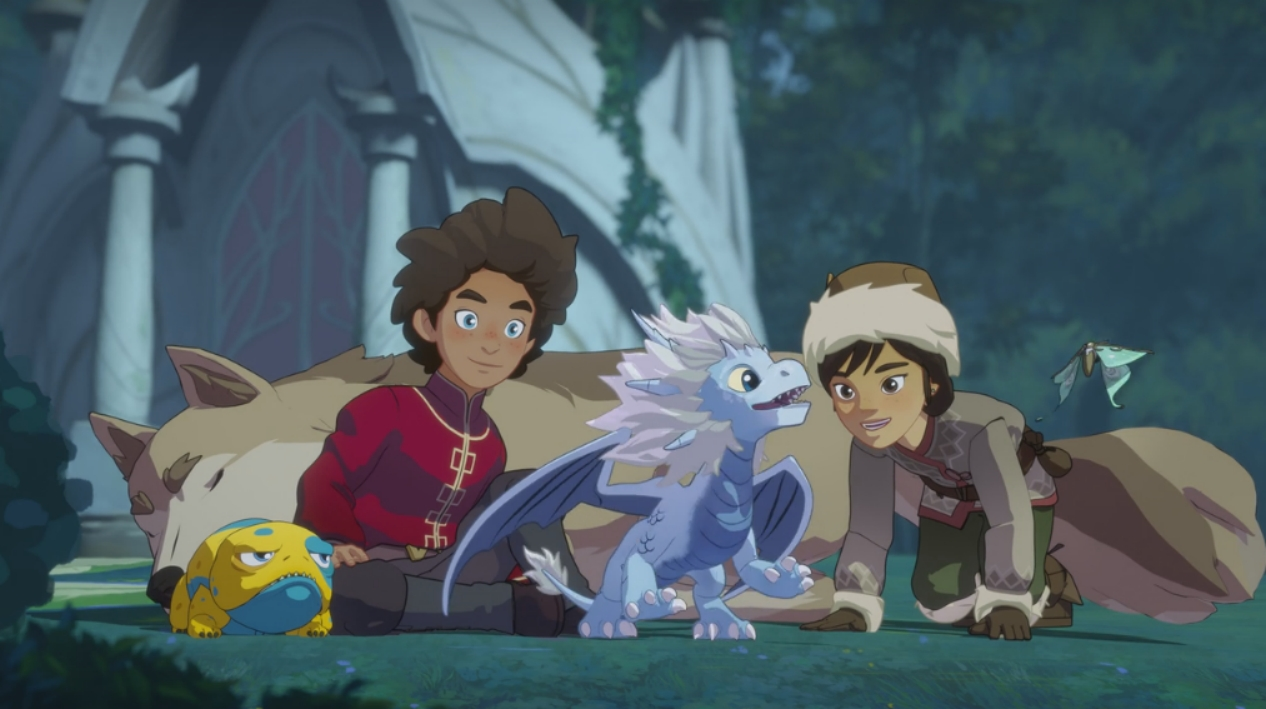 The Prince of Dragons - The animated series