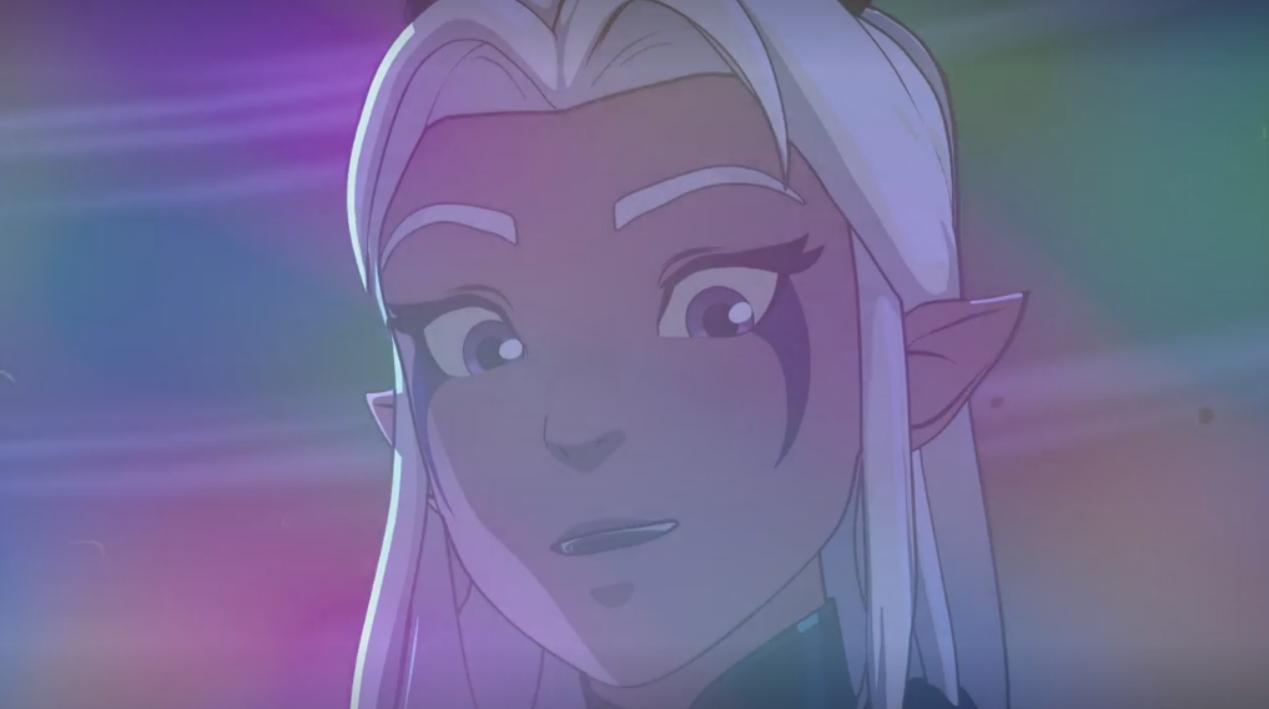 Rayla - The Prince of Dragons - The animated series