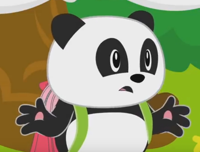 Śledź przyjaciela pandy Juliusa