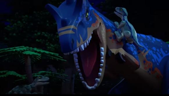 Jurassic World: The legend of Isla Nublar, serial animowany