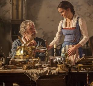 Belle och hennes far Maurice