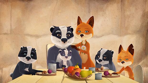 La famiglia volpitassi la serie animata