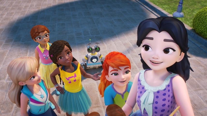 Friends ragazze in missione la serie animata