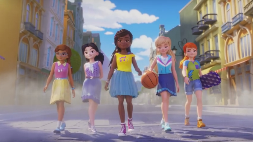 Lego Friends - Girls on a Mission - the animated series
