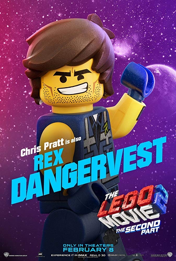 Rex Rischiatutto - The Lego Movie 2: A New Adventure