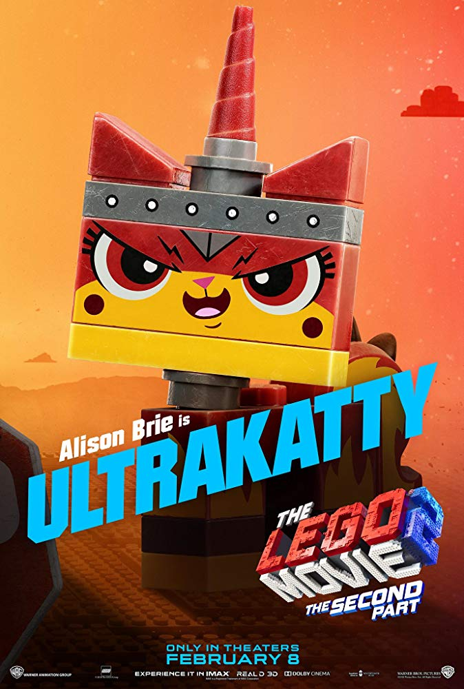 Unikitty is voiced by Valentina Mari - The Lego Movie 2: A New Adventure