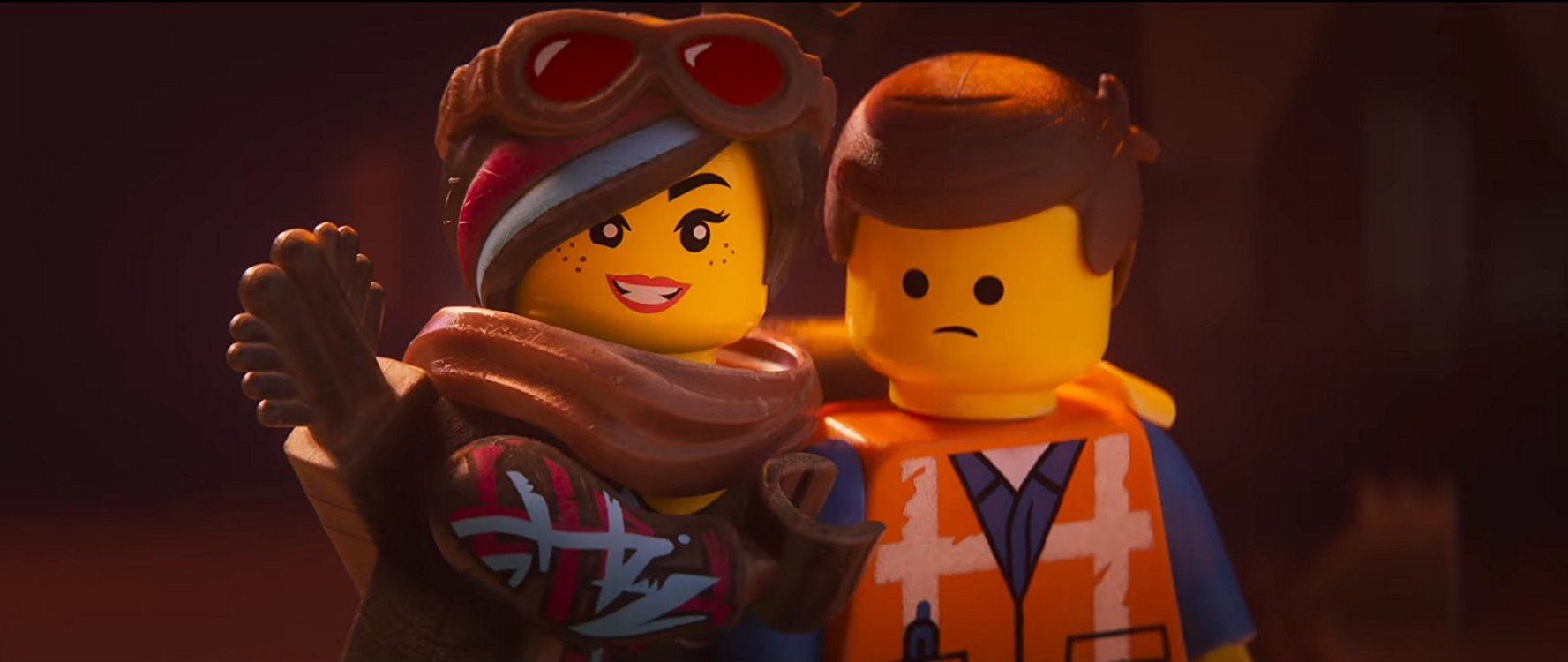 Lucy and Emmet - The Lego Movie 2: A New Adventure