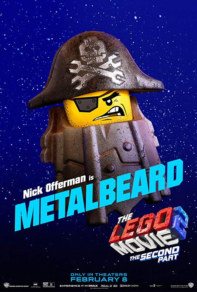 The Barb Steel Pirate - The Lego Movie 2: A New Adventure
