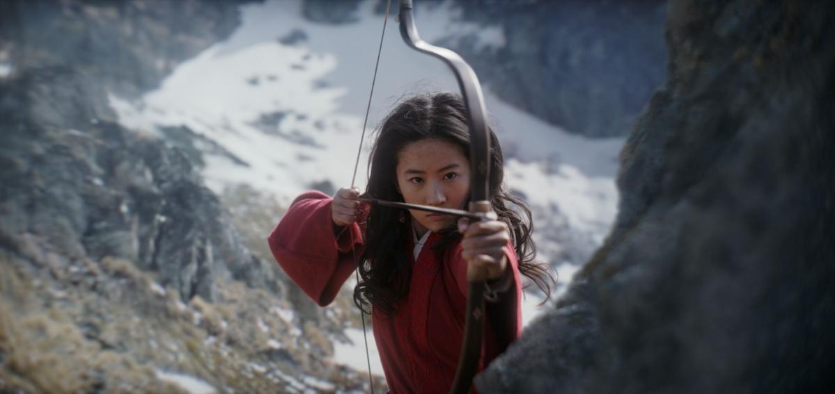 Mulan spelat av Liu Yifei