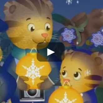 Daniel Tiger - Snowflakes in Sparkling Lights