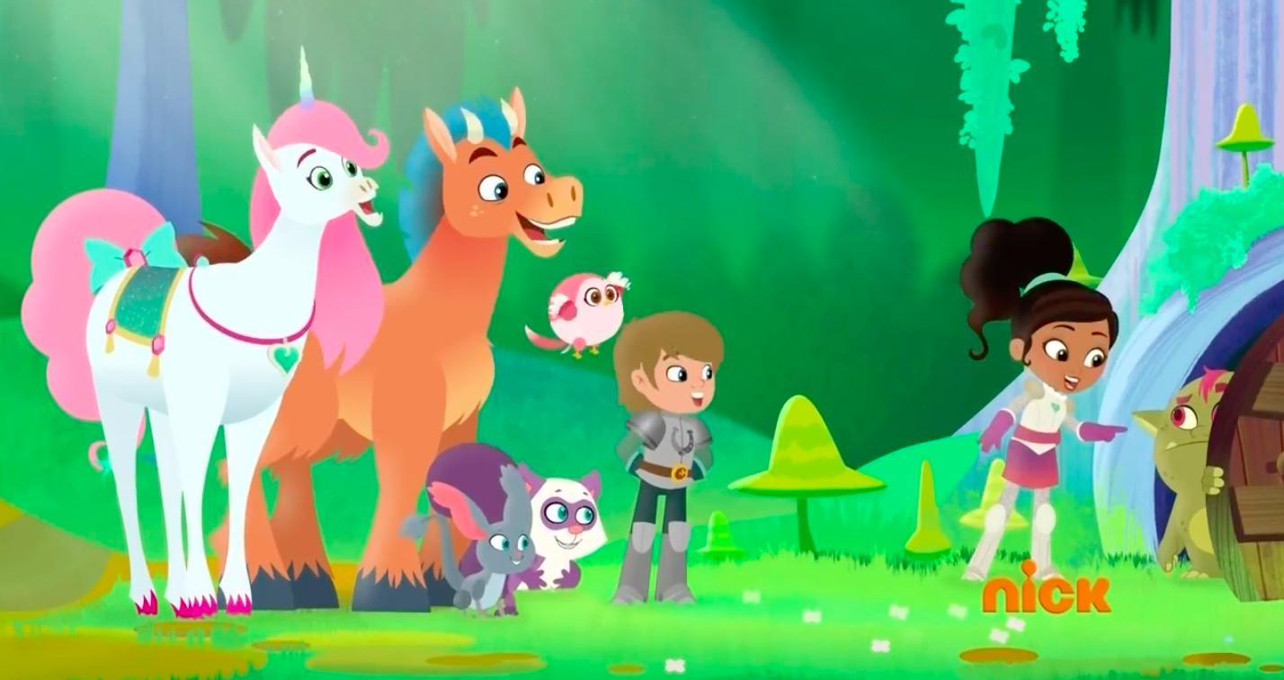 Nella princesse chevalier - la série animée