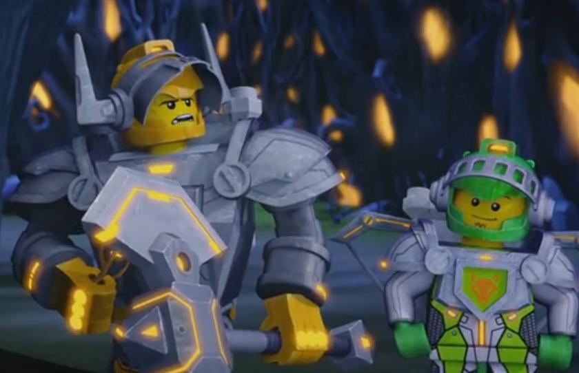 Nexo knights la serie animata