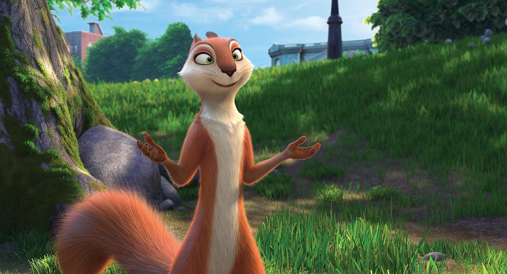 다람쥐 Andie-Nut Job 2-모두 매우 재미