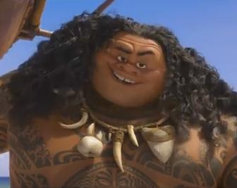 Maui le demi-dieu du film Océanie