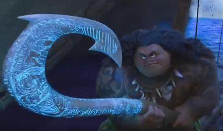 Maui et son harpon magique