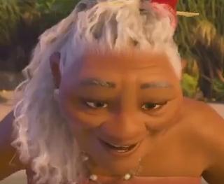 Grand-mère Tala du film Océanie