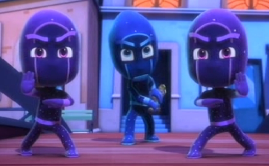Immagini di ninja della notte e i suoi minininja for Immagini super pigiamini da stampare