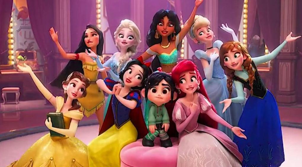 Vanellope E Le Principesse Disney Di Ralph Spacca Internet