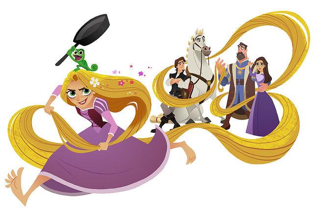 Rapunzel personagens da série animada