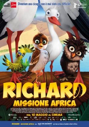 Cartaz italiano de Richard - Missão África
