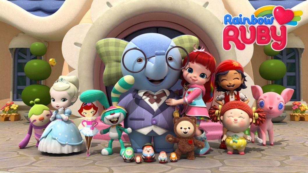 Personajes de Ruby Rainbow