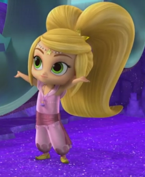 Immagini di lea la bambina con i capelli biondi shimmer