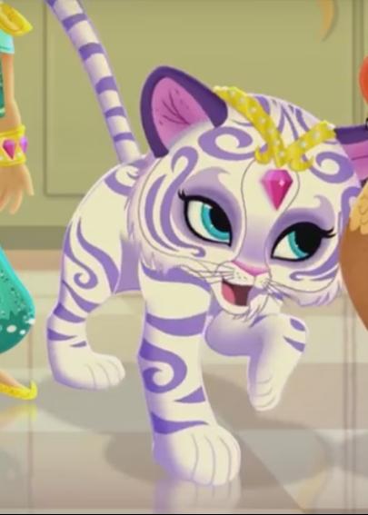 Nahal Il Cucciolo Di Tigre Delle Shimmer And Shine