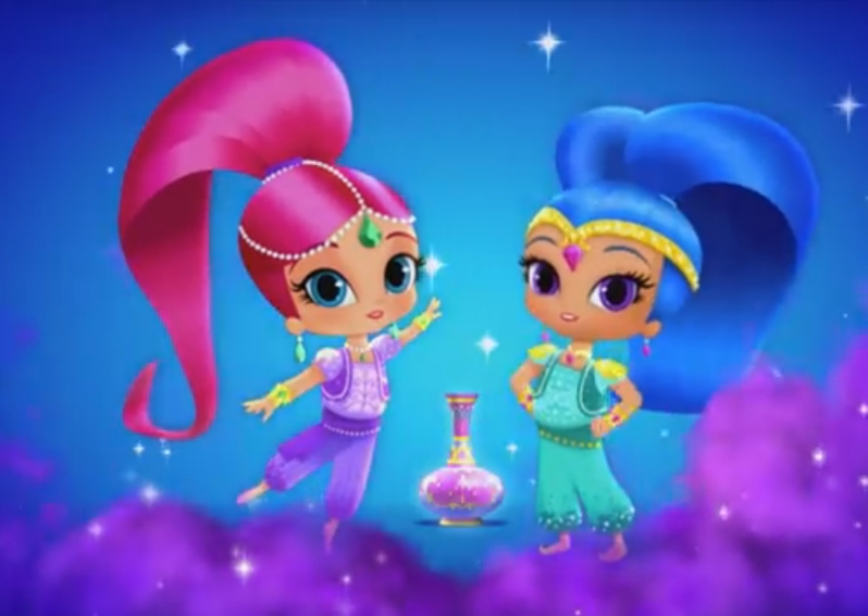 Shimmer and shine the history