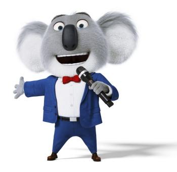 Buster Moon, o anfitrião do Koala que canta