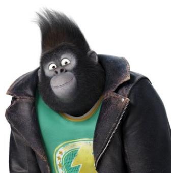 Johnny, o gorila do canto
