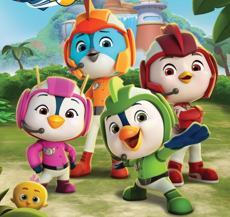 Top Wing - la serie animata