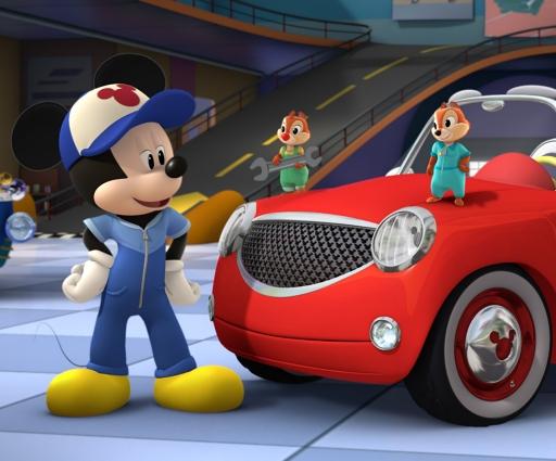 Mickey z Cipem i Ciopem
