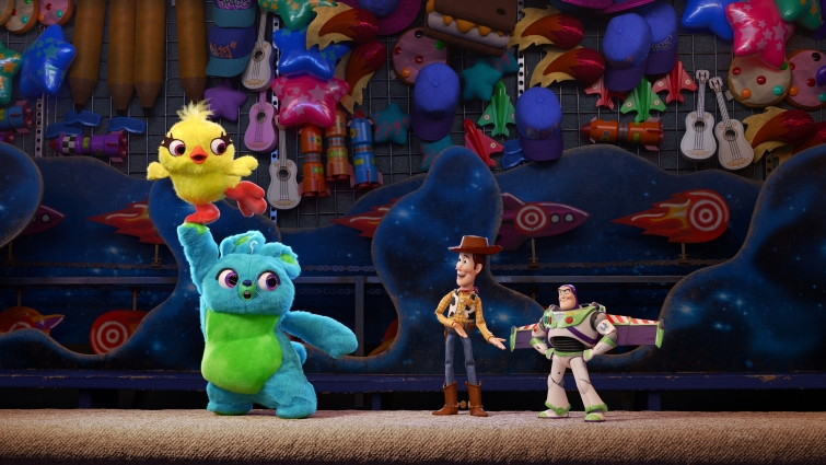 Toy Story 4 - Woody en Buzz