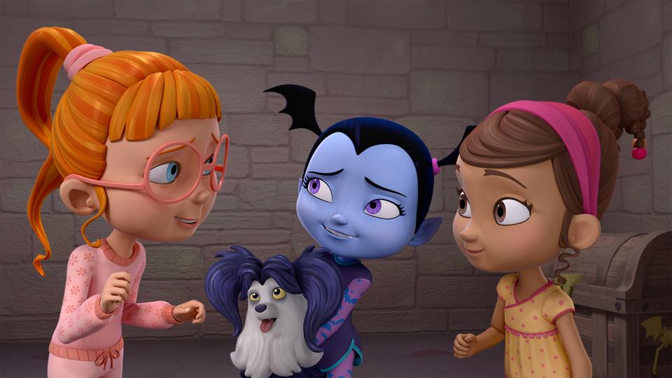 Vampirina com as amigas