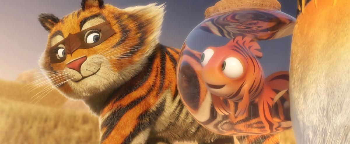 Junior et le tigre