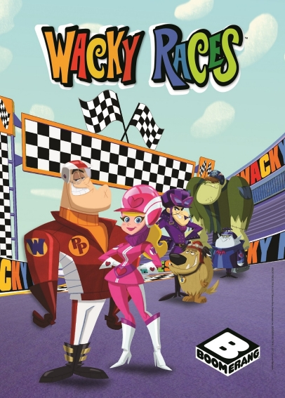 Wacky Races Poster