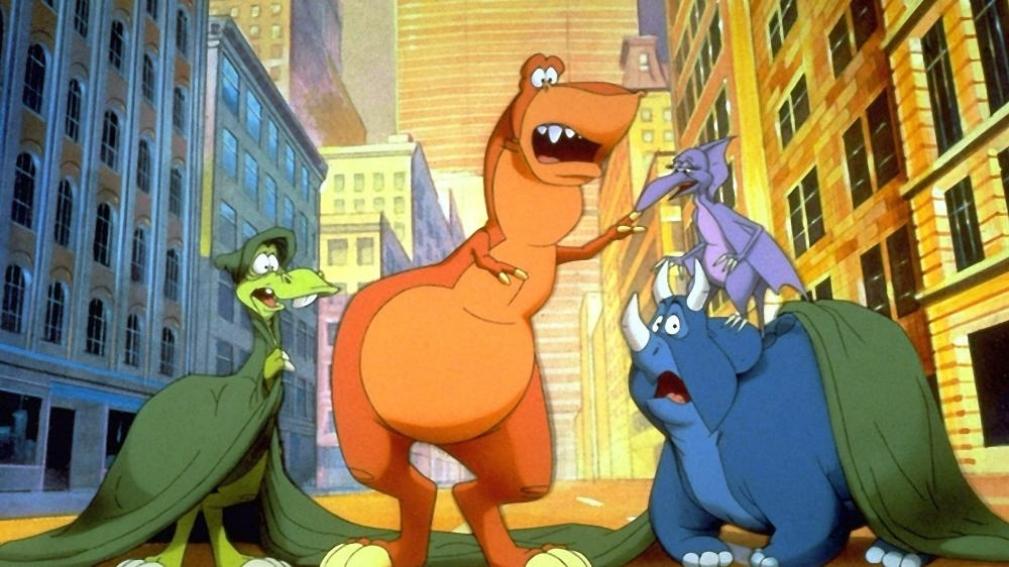 ¡Estamos de vuelta! Cuatro dinosaurios en Nueva York