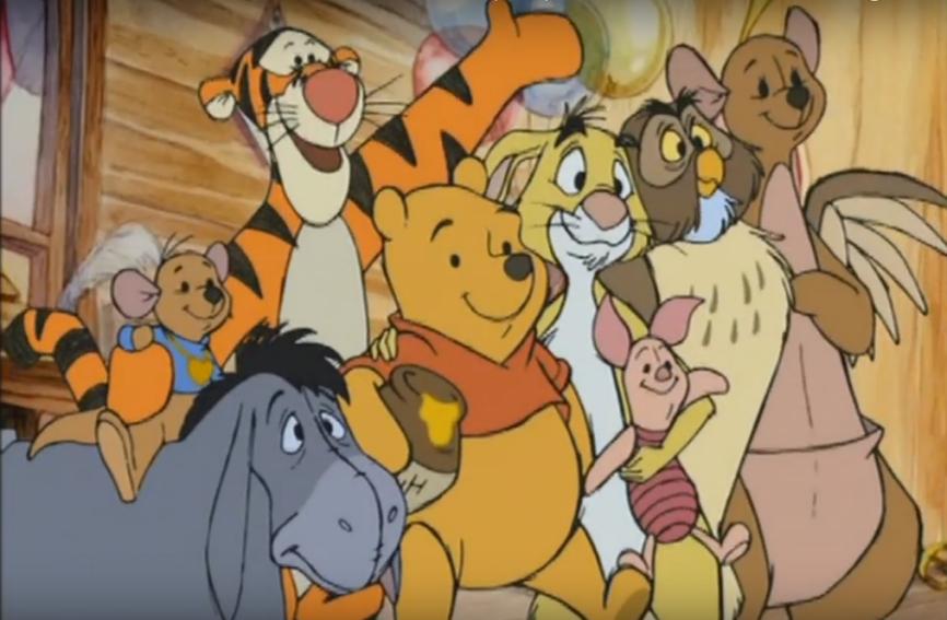 Winnie the Pooh - Ro y la magia de la primavera
